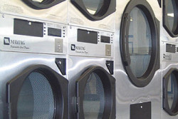 Stackable Commercial Washer and Dryers